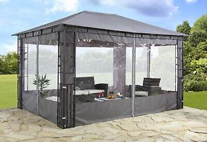 Seitenteile-Pavillonseiten-2Stueck-Fenster-Polyester-anthrazit-UVP-59-99-7220116