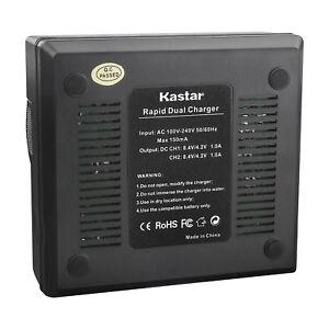 Kastar Battery LCD Charger for Gopro2 Gopro HERO Gopro