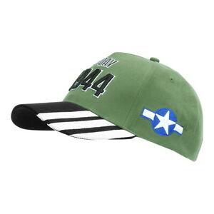 US Army Baseball Cap D-Day 1944 USAAF Cockade Operation Overlord Airborne WWII