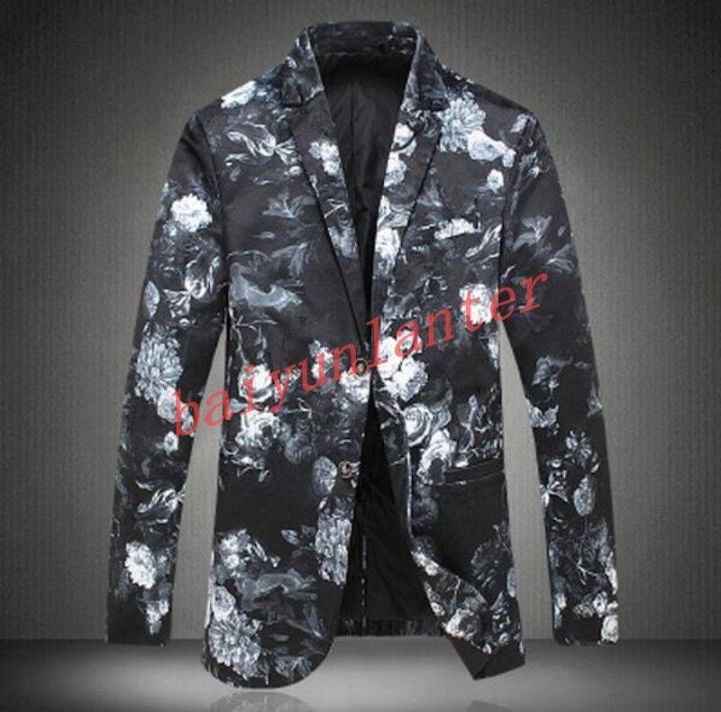 Uomo's bavero interno in pelliccia Breve in Cappotti Giacche in Breve pelle moda Singolo Petto Cappotti 915535