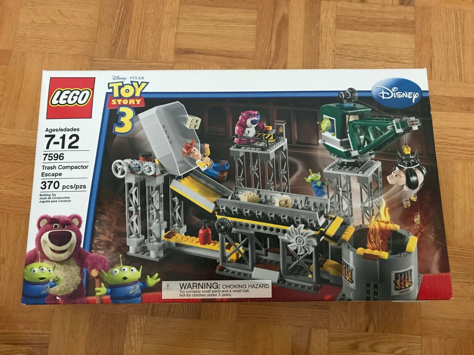 BRAND NEW SEALED Toy Story 3 Lego Set 7596 Trash Compactor Escape