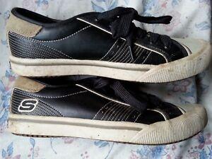 4 Skechers Taille Femmes Black Street Wear Baskets 4YRzq