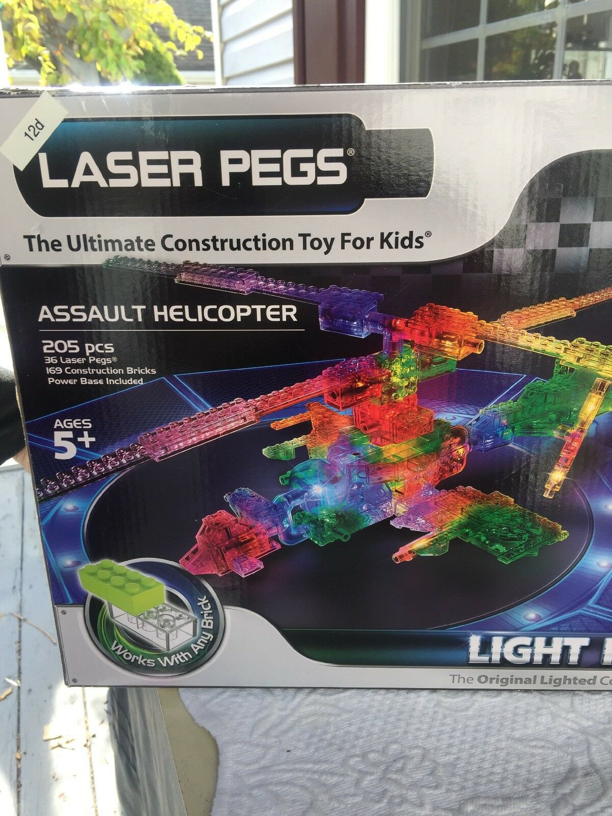New Laser Pegs  Assault Helicopter 30 1 Light Up Up Up 01cd30