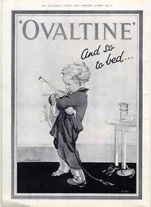 OVALTINE-Reklame-1935-Kinder-Kind-Child