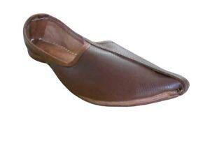 24da28673027 La foto se está cargando  Hombres-Zapatos-Jutti-indio-Chanclas-de-cuero-genuino-