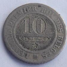 Belgique, Leopold I 10 Centimes 1862 Belgïe AVEC POINT