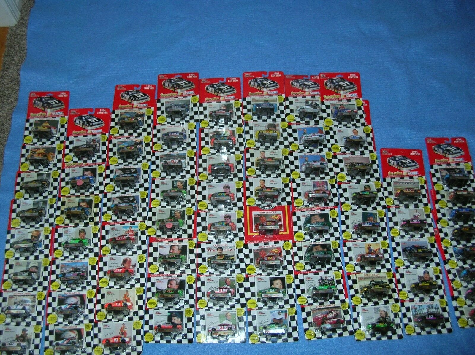 1994 NasCoche Diecast 1 64 68 Diff variación Rezendes Labonte Dentyne Raro Sears