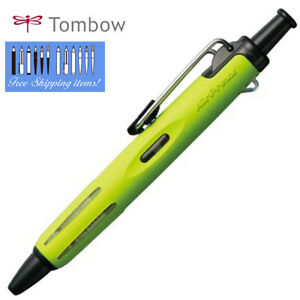 Tombow-AIRPRESS-034-Lime-Verde-BC-AP65-sotto-pressione-penna-a-sfera-0-7mm-all-039-aperto