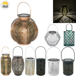 Solar-LED-Hanging-Light-Retro-Hollow-Lantern-Outdoor-Garden-Yard-Decoration-Lamp