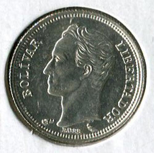 """1960 Venezuela Silver Coin /""""Real/"""" 50 Centavos"""