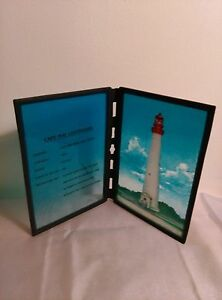 """Sun Catcher, Lighthouse, Cape May NJ, 8"""", Hand Painted"""