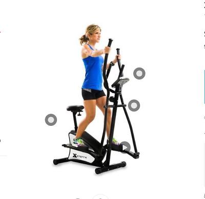eu100 2in1 hybrid elliptical machine fitness trainer