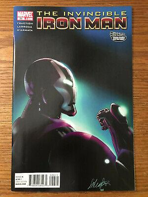 The Invincible Iron Man #28 Vol 7 2008 Marvel Comics NM 2010 Matt Fraction