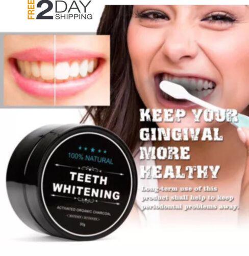 carbon activado para lavar dientes