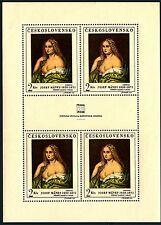 CECOSLOVACCHIA - 1968 - Giornata della FIP - Minifoglio