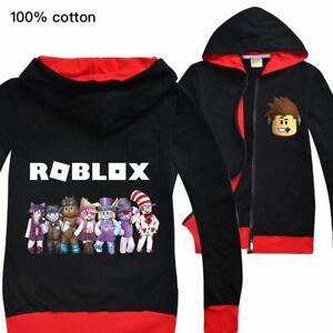 Roblox Boys Girl Kid Cartoon Fashion Casual Hoodies Sweatshirts
