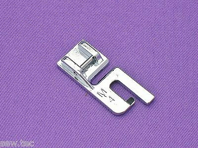 FELLING FOOT 4MM SNAP ON COMPATIBLE WITH BROTHER NEW SINGER AND OTHER MAKES