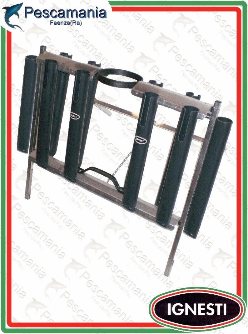 Cavalletto Ignesti porta canne 10 tubi