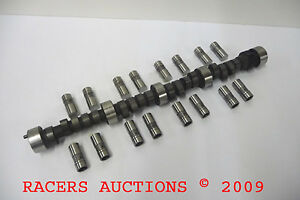 SBC-Chevy-Stump-Puller-Cam-amp-Lifters-Stock-Car-248-251-Duration-531-542-Lift