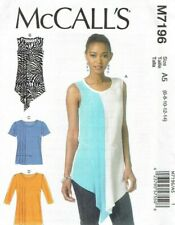 McCall/'s 6204 Misses/'//Women/'s Tunics   Sewing Pattern