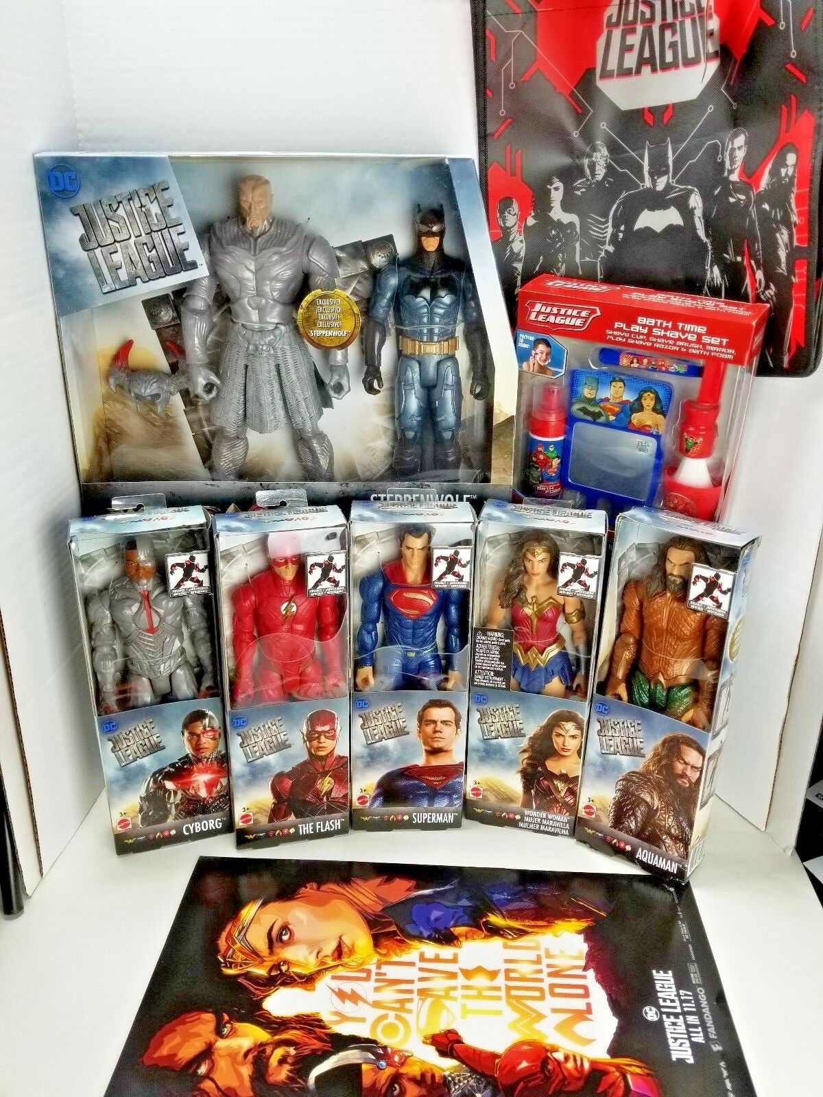 Justice League movie DC BUNDLE Superman  Batman 12
