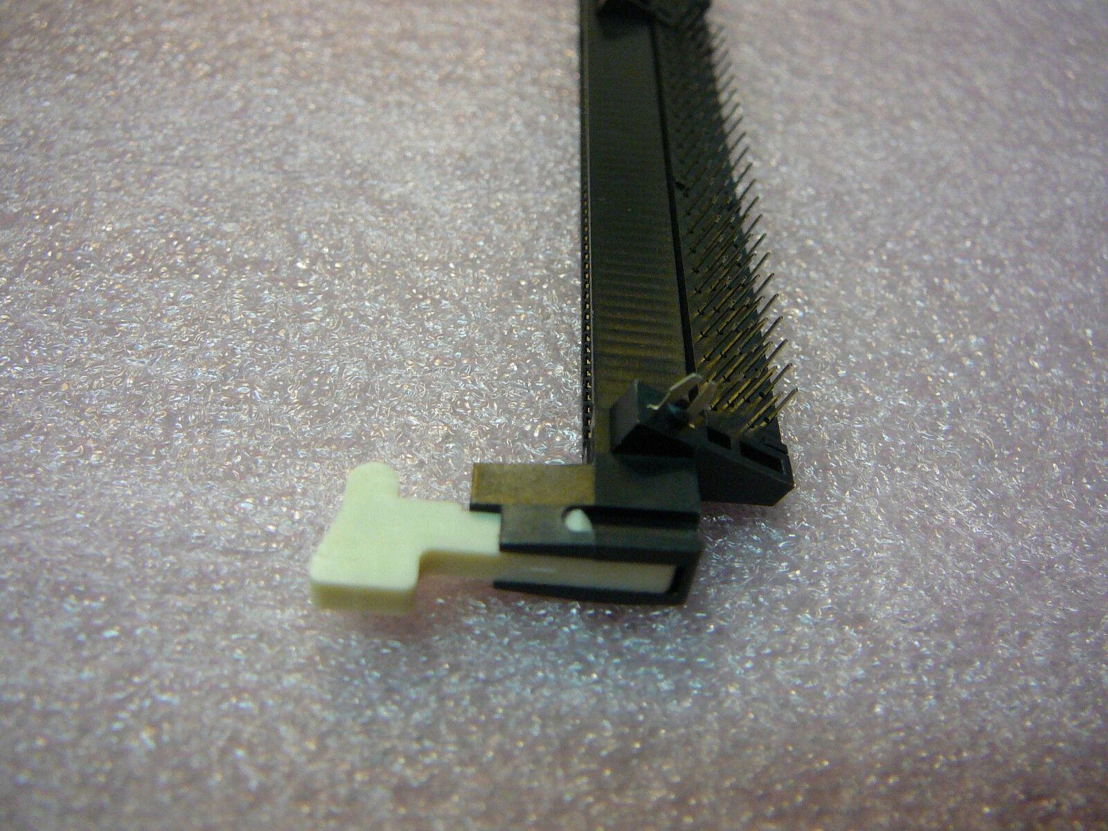 New QTY-5 TYCO 5390402-3 PC Mount 184-Pos 2.5V DDR DIMM Memory Module Socket