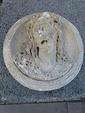 Reliquaire tête du CHRIST JESUS. objet religieux. 19ème.