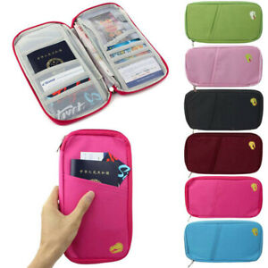 NEW-Travel-Bag-Wallet-Purse-Document-Organiser-Zipped-Passport-Tickets-ID-Holder