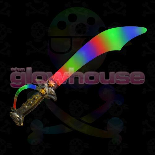 Light up pirate épée-cutlass style avec clignotant led