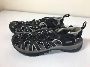 Keen-Sandals-Size-8-Womens-Whisper-Outdoor-Water-Sport-Black-UK-5-5-EUR-38-5