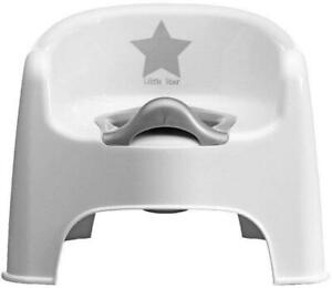 Deluxe-Silver-Lining-Baby-Child-toddler-Potty-Chair-Little-Star-Training-New