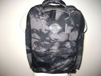 Vans Shoes Icono Square Backpack Bookbag Laptop Sleeve Unisex Black Grey