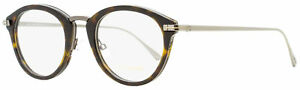Tom-Ford-Oval-Eyeglasses-TF5497-052-Dark-Havana-Ruthenium-48mm-FT5497