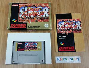 Super Nintendo SNES Super Street Fighter II - The New Challengers PAL