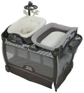Graco Baby Pack 'n Play Nearby Napper Crib Bassinet ...