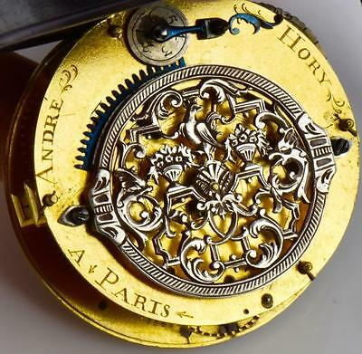Here it is! The ULTIMATE Memento Mori Skull Single Hand Verge Fusee Oignon watch