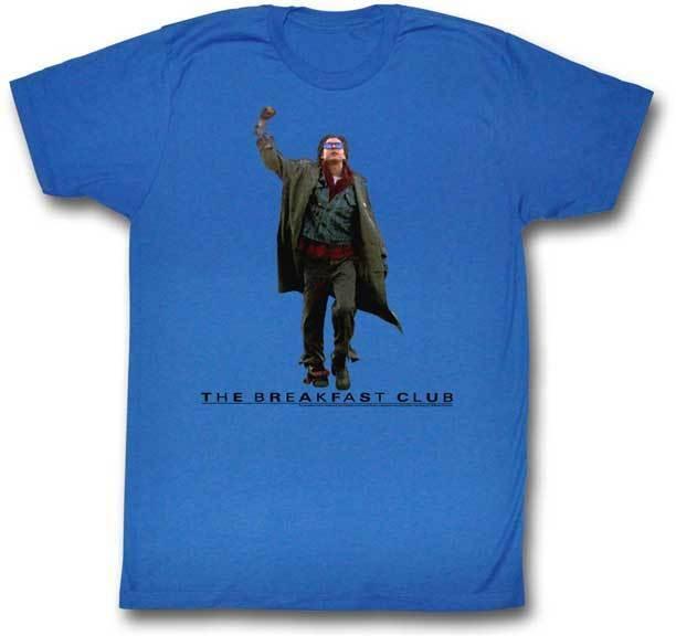 The Breakfast Club Fist Pump Adult T Shirt Classic Movie