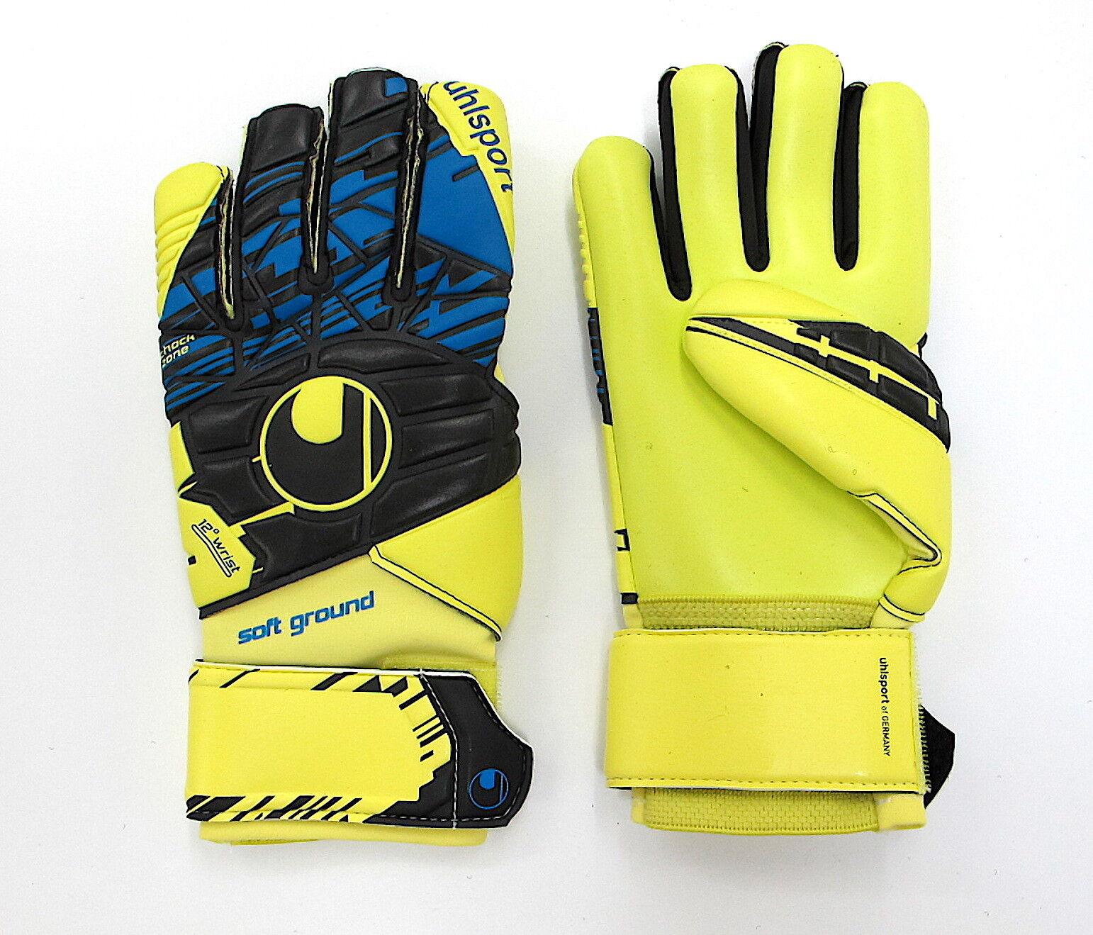 now Speed Torhüter Handschuhe Uhlsport soft up Vielfalt In