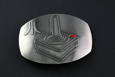 Atari Joystick Grey Belt Buckle