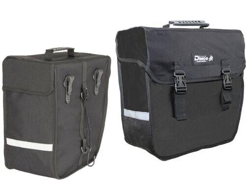 Black Dingo Julimar Fahrrad Gepäckträger Einzel Taschen Set Rechts /& Links