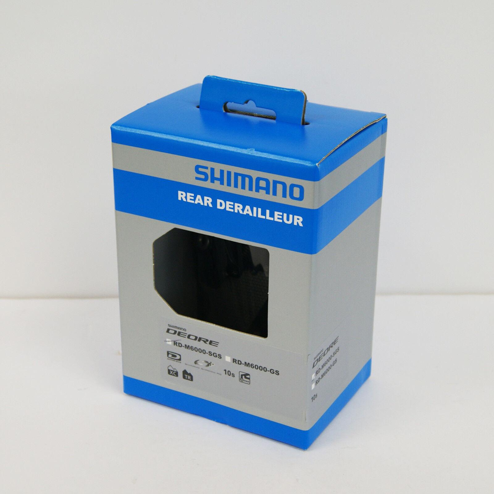Shimano Deore RD-M6000-SGS Schatten Rd + Schaltwerk 10-Speed IRDM6000SGS