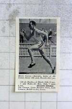 1950 Morris Curotta From Australia Holds Allcomers Junior 440 Yards Record