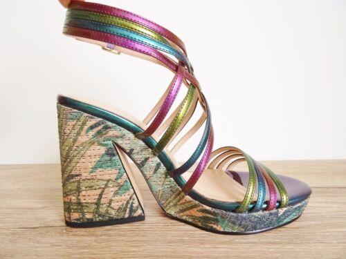 Strappy Multicolor Usa 6 Taglia Zara 36 3 Sandals Eu Platform Stunning Uk WOxT7nR