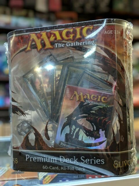 MTG Slivers Premium Foil Deck Sealed English