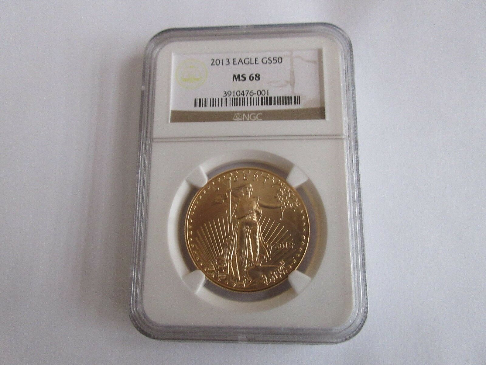 2013 , American Eagle Gold , $50 , NGC , MS-68