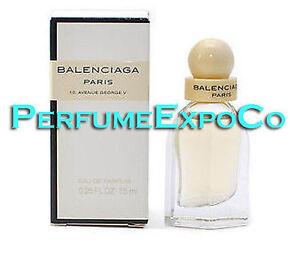 Orientar Concesión pétalo  BALENCIAGA Paris Perfume 7.5ml EDP SPLASH MINI Eau De Parfum Women (C64 |  eBay