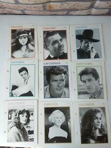 Details about 1920'S, 30' 40' 50' 60' 70' 80' 90' ,TV SHOW & CINEMA STARS  (60) big CARDS 7