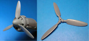 1-48-Junkers-Ju-88A-4-A14-Corrected-Propellor-set-ICM-Vector-Resin-VDS48-105