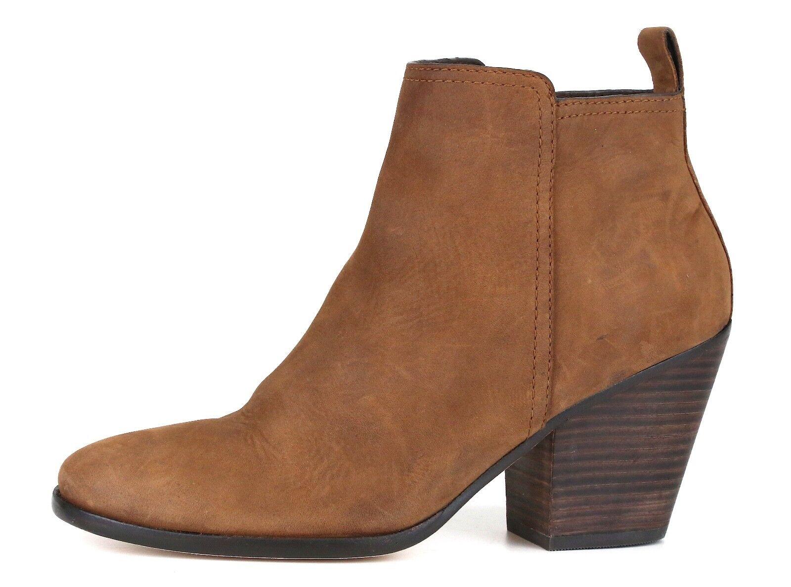 molte concessioni Cole Haan Haan Haan Chesney Leather avvioie Cognac donna Sz 8.5 B 6776   prendiamo i clienti come nostro dio