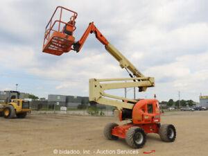 2011-JLG-450AJ-45-039-4WD-Diesel-Articulating-Boom-Lift-Manlift-Jib-bidadoo